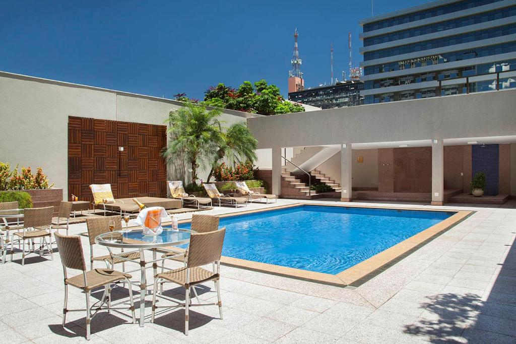 The swimming pool at or near Windsor Plaza Brasília