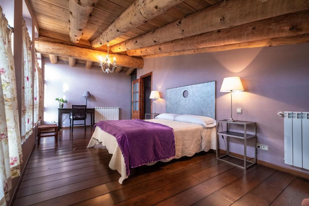 Cama o camas de una habitación en Casa Insol