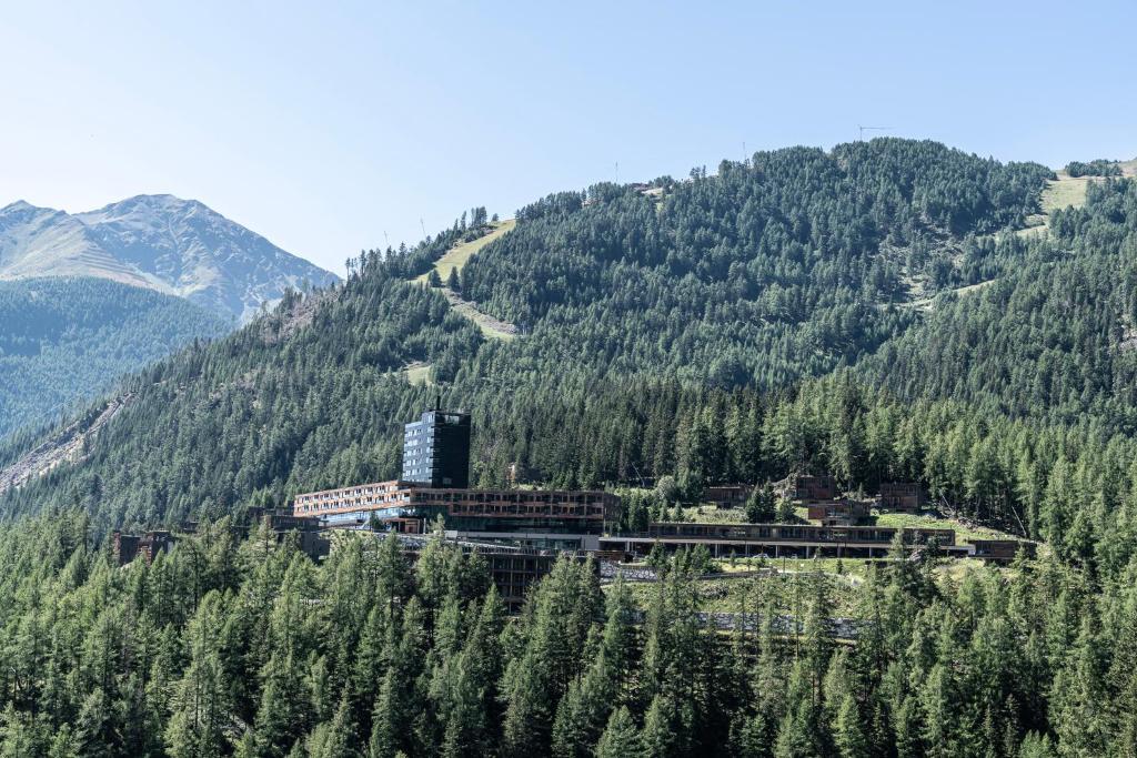 Natuurlandschap vlak bij het hotel