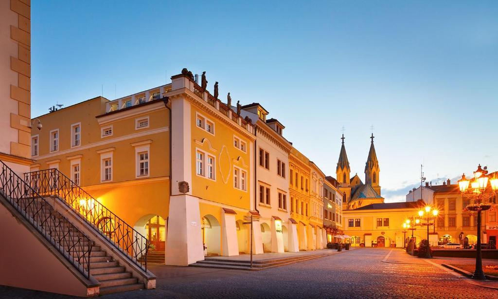 Hotel a hostel U Zlateho kohouta Kromeriz, Czech Republic