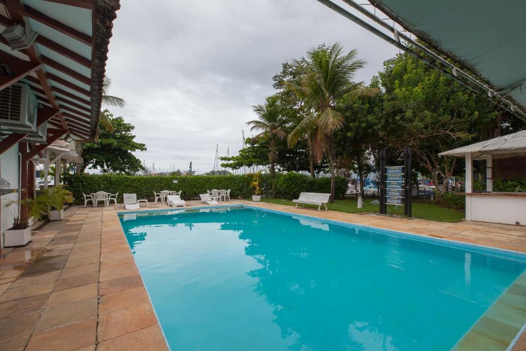 The swimming pool at or close to Samba Angra dos Reis