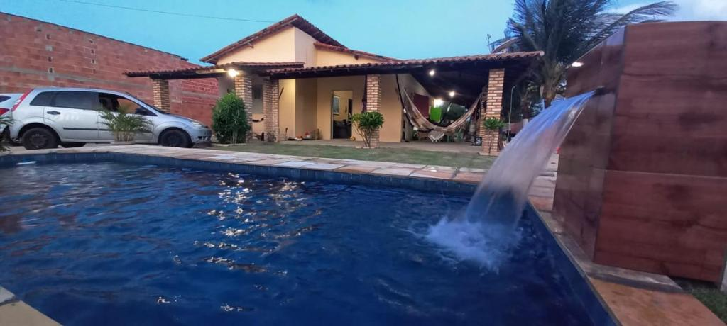 The swimming pool at or close to Vivenda Malu