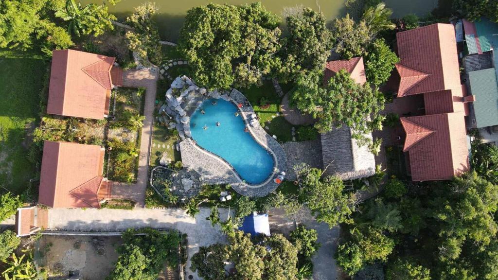 Vue panoramique sur l'établissement Dinh Gia Home