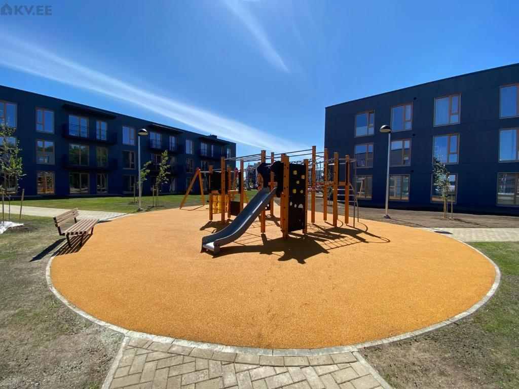 Children's play area at Overnight Family Home