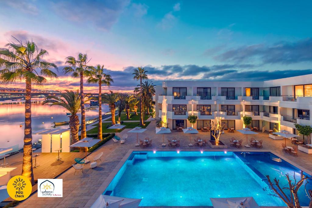 A view of the pool at Dawliz Rabat Resort & Spa or nearby