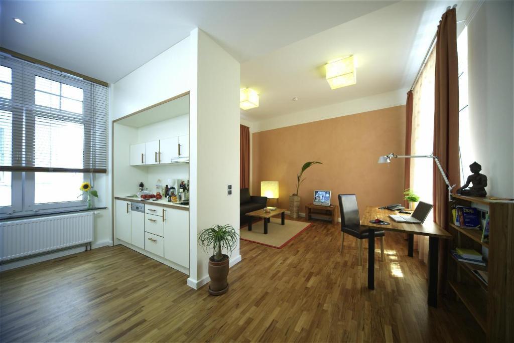 Küche/Küchenzeile in der Unterkunft Best Western Hotel Bremen City
