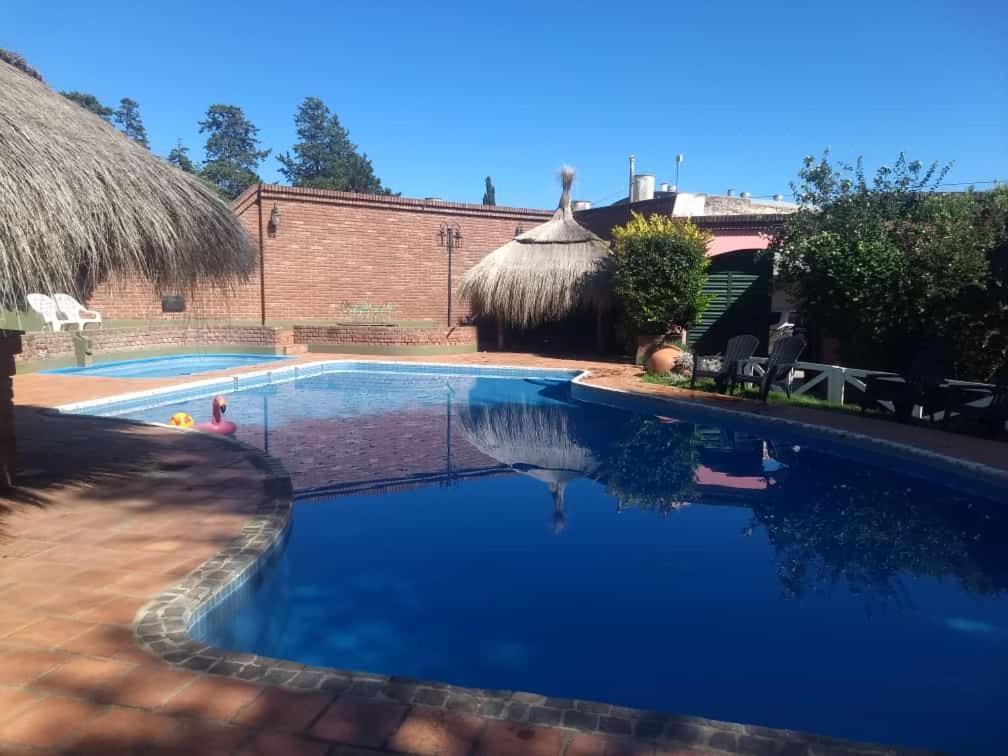 The swimming pool at or near La Puerta del Sol
