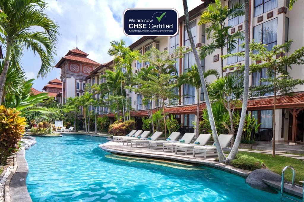 The swimming pool at or near Prime Plaza Hotel Sanur – Bali