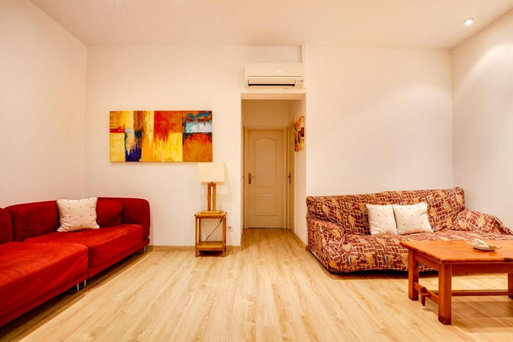 Zona de estar de Joyful 2 Bed in the fantastic Sant Antoni area