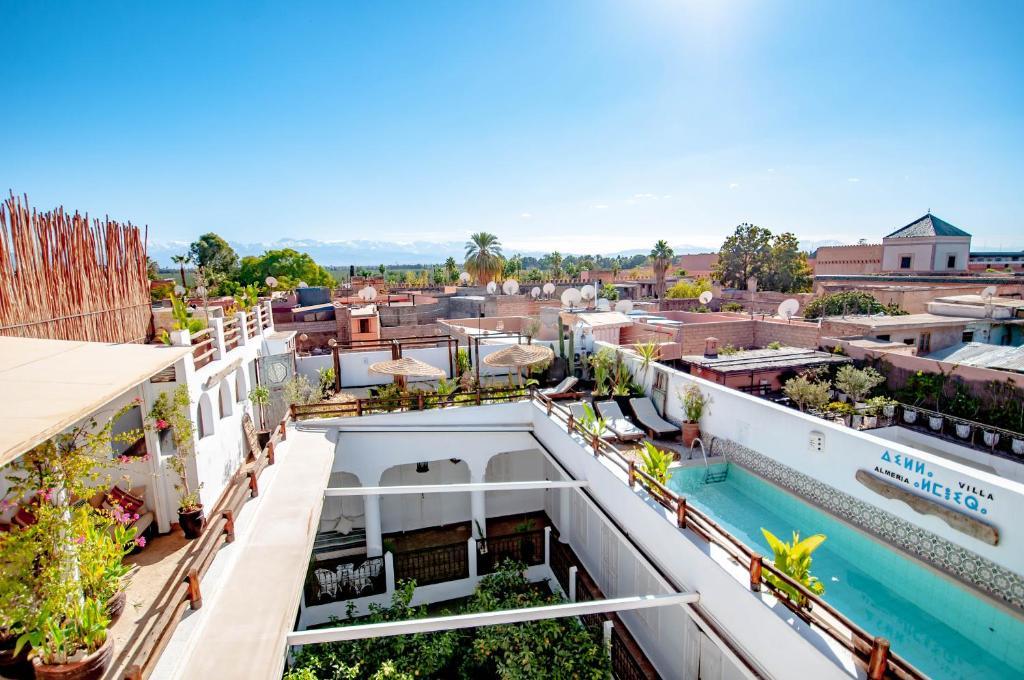 Vista de la piscina de Riad Villa Almeria Hotel & Spa o alrededores