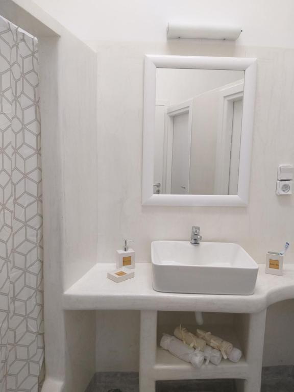 Kylpyhuone majoituspaikassa Youth Hostel Anna