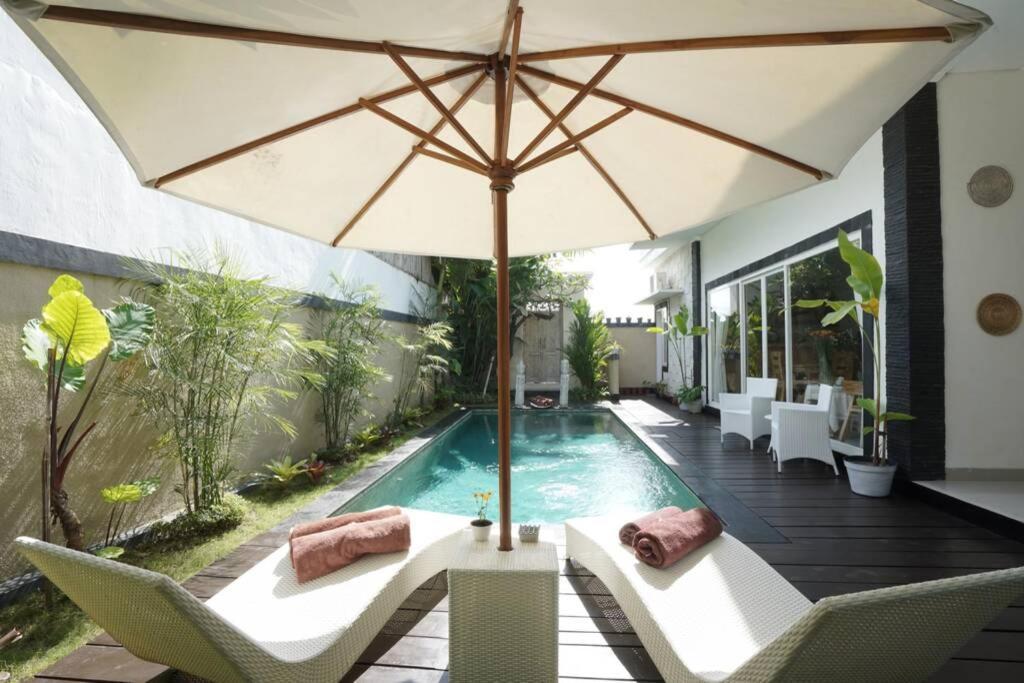 Villa Haiciao Bali Umalas ricefield view 3Bedrooms