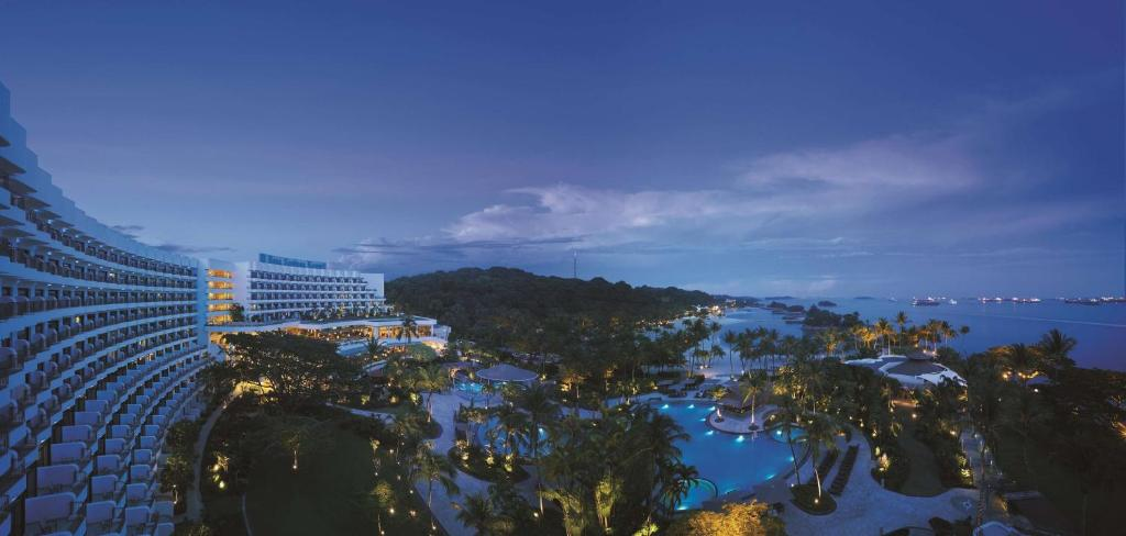A view of the pool at Shangri-La Rasa Sentosa, Singapore (SG Clean) or nearby