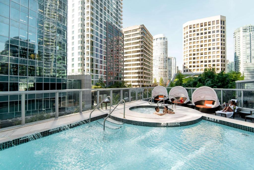The swimming pool at or near Shangri-La Vancouver
