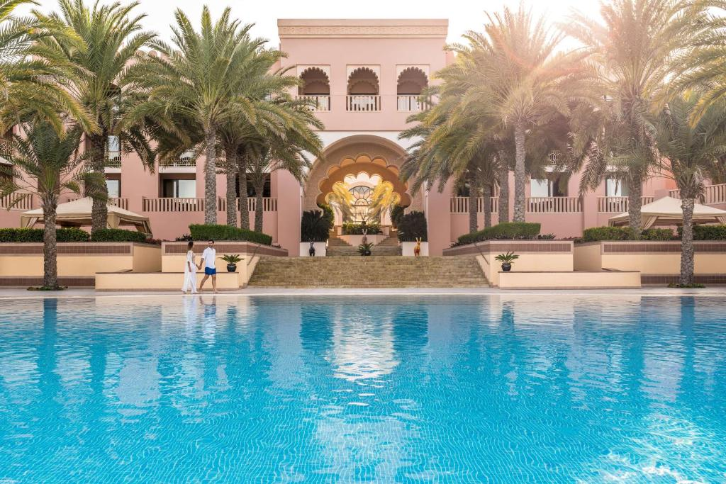 The swimming pool at or near Shangri-La Al Husn, Muscat