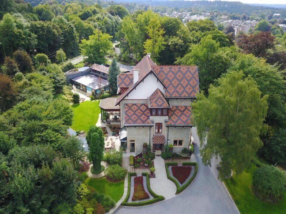 A bird's-eye view of B&B La Villa d'Olne