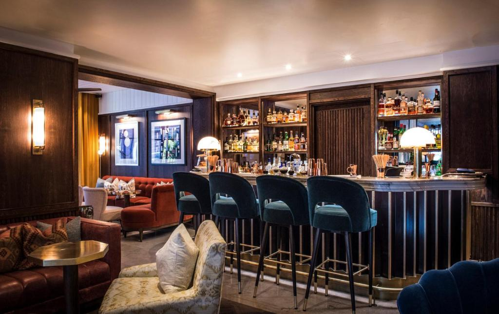Lounge oder Bar in der Unterkunft The Marylebone Hotel
