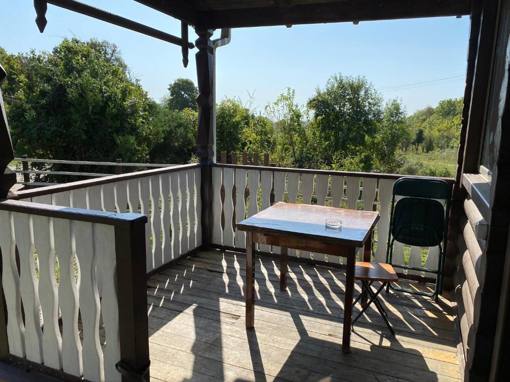 Балкон или терраса в Guest House on Lenina