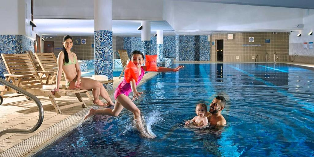 The swimming pool at or near Clayton Hotel Liffey Valley