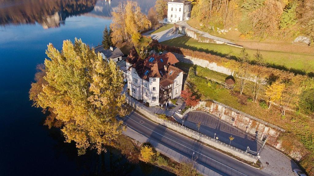 A bird's-eye view of Adora Luxury Hotel (ex Vila Istra)