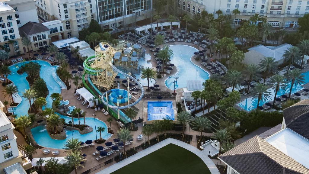 A bird's-eye view of Gaylord Palms Resort & Convention Center