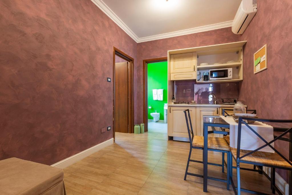 Cucina o angolo cottura di Hestasja Exclusive Rooms & Breakfast