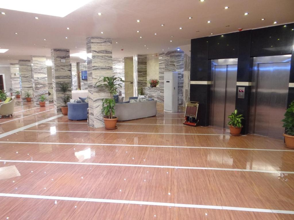 The lobby or reception area at Rukn Kahramana Baghdad