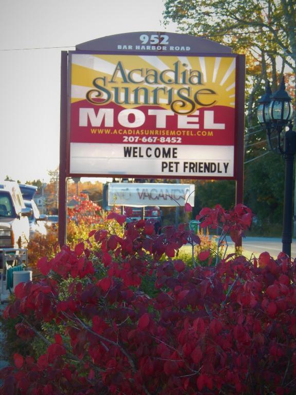 The Acadia Sunrise Motel.