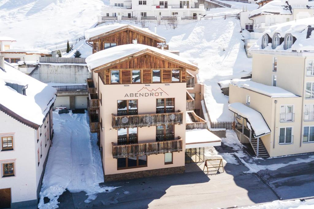 Hotel Abendrot by Alpeffect Hotels during the winter