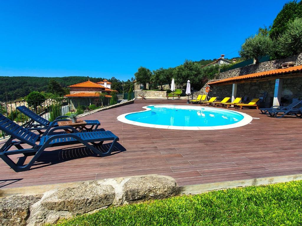 The swimming pool at or near Casa Belavista