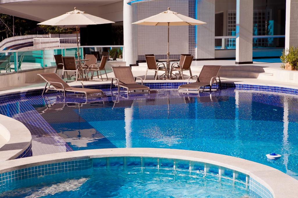 The swimming pool at or near Premier Parc Hotel