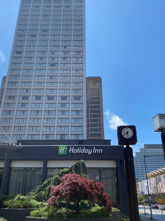 The Holiday Inn Baltimore Inner Harbor.