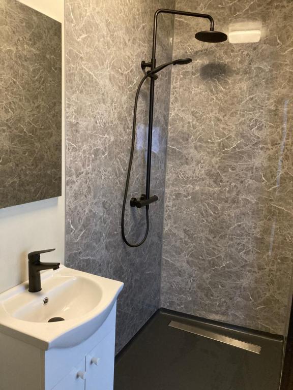 Een badkamer bij Sheepyhead