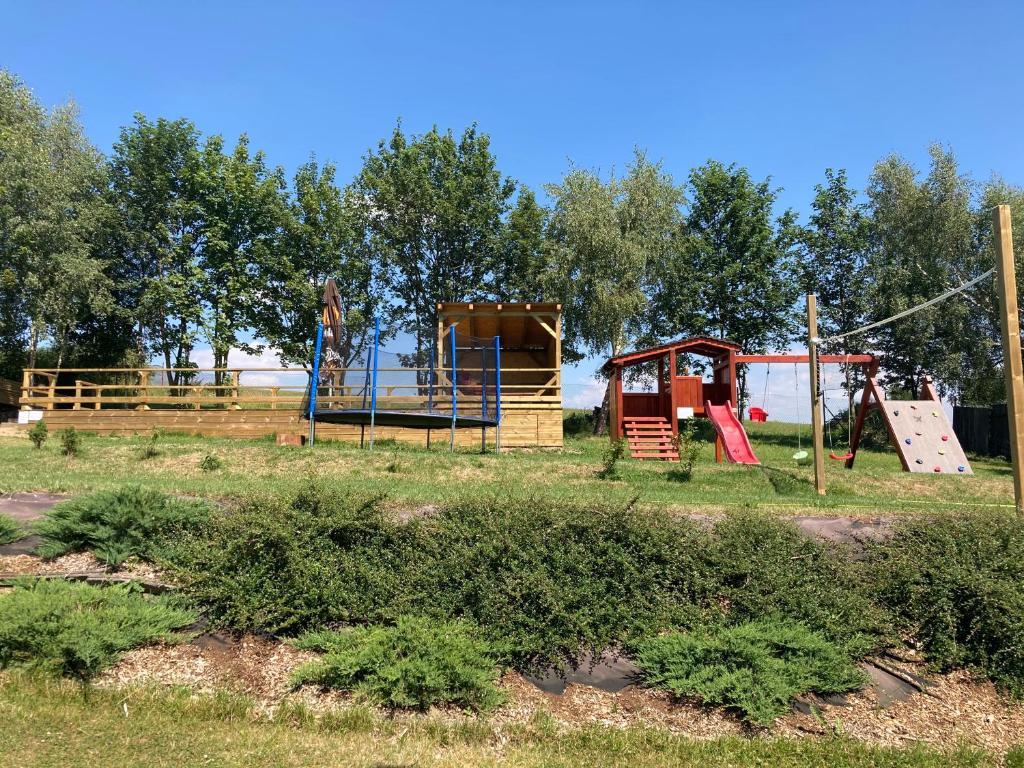 Herní místnost nebo prostor pro děti v ubytování Apartments Villa Viola