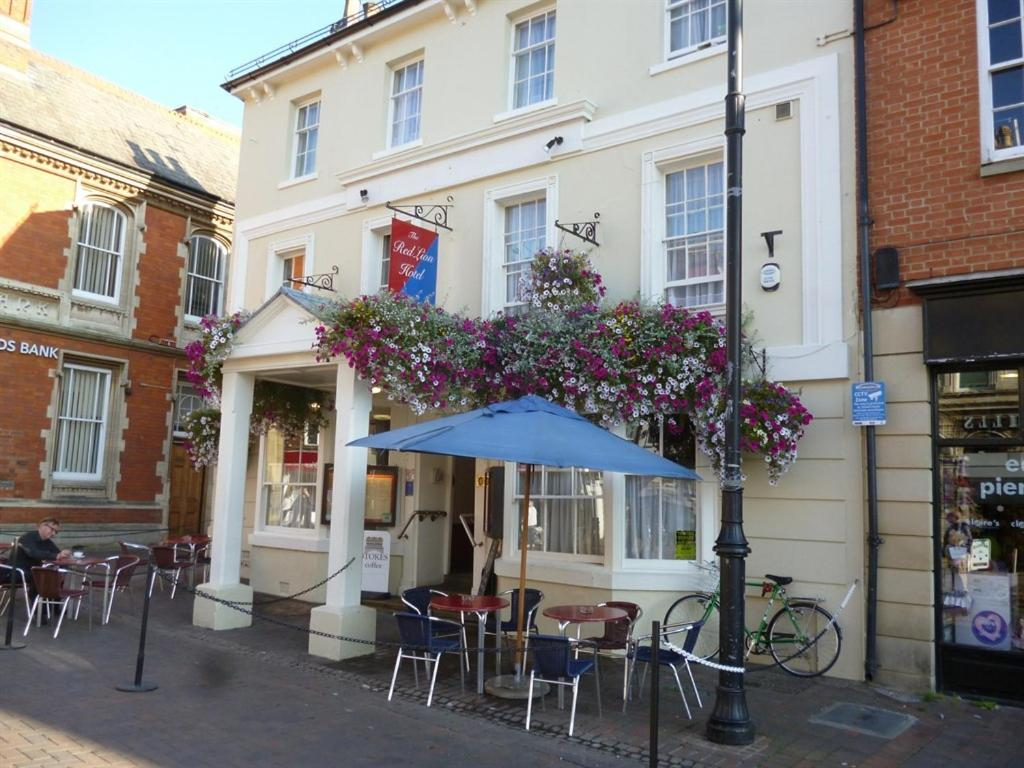 The Red Lion Hotel in Spalding, Lincolnshire, England