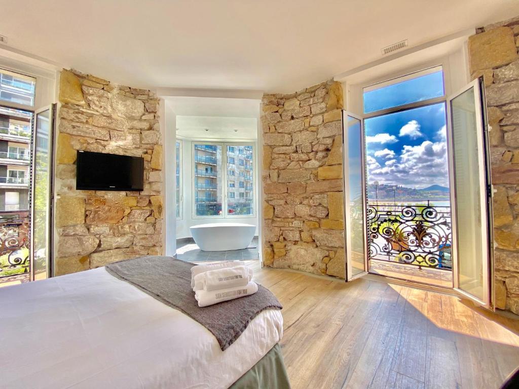SanSebastianForyou / Mirandoalaconcha Rooms