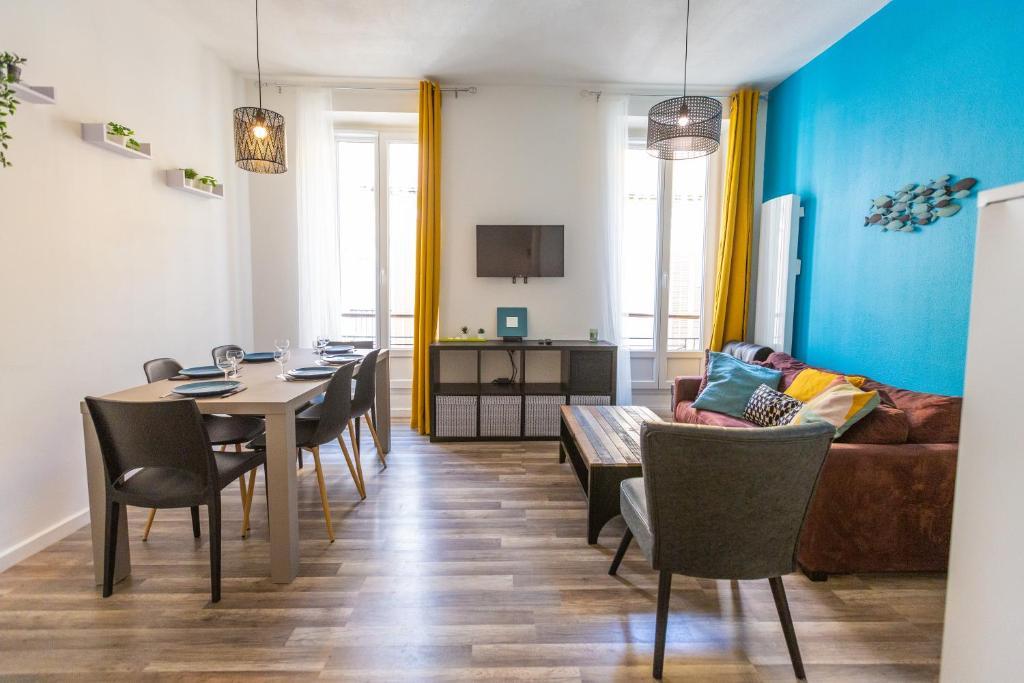 A restaurant or other place to eat at Hypercentre T4 à 7 min à pied du Vieux Port