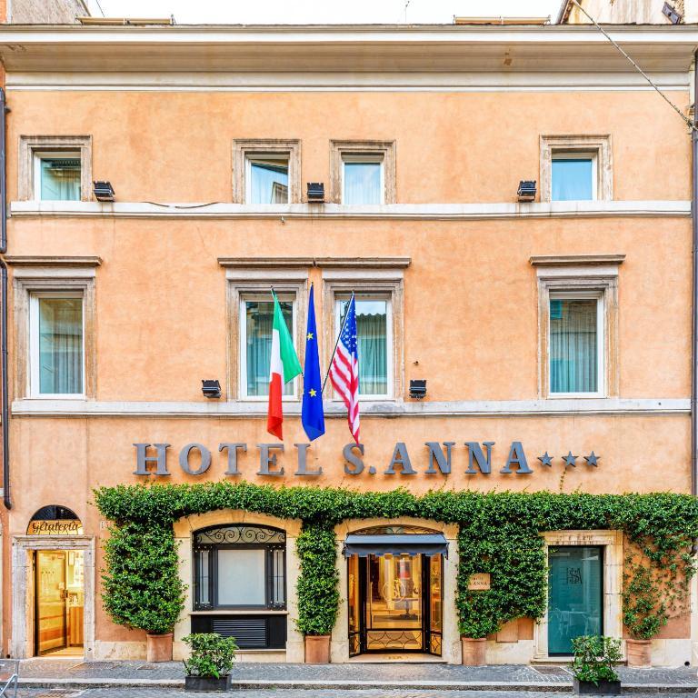 The Hotel Sant'Anna.