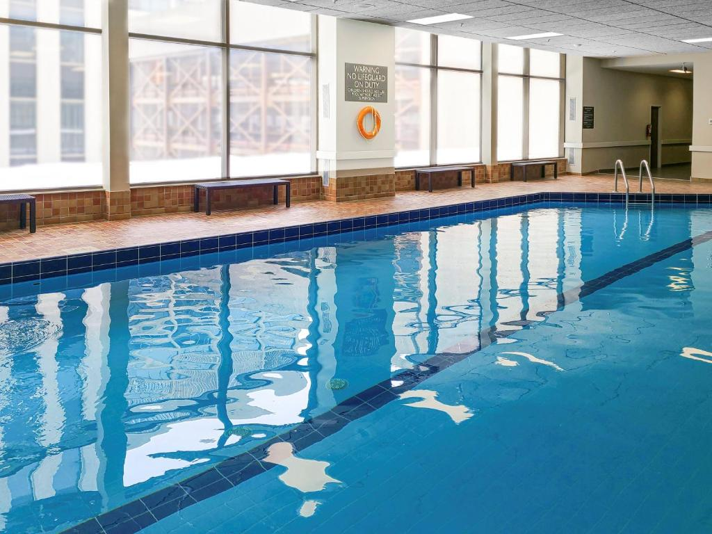 The swimming pool at or near Delta Hotels by Marriott Saint John