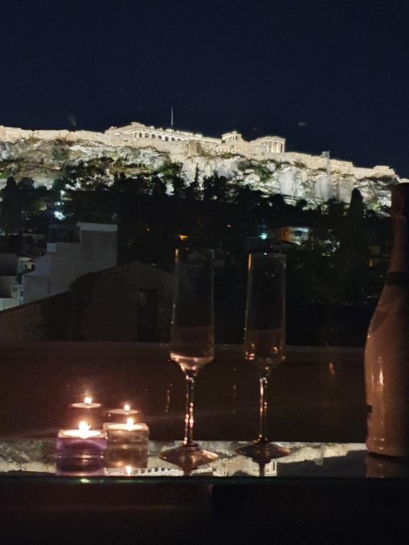 Breathtaking Acropolis View Loft