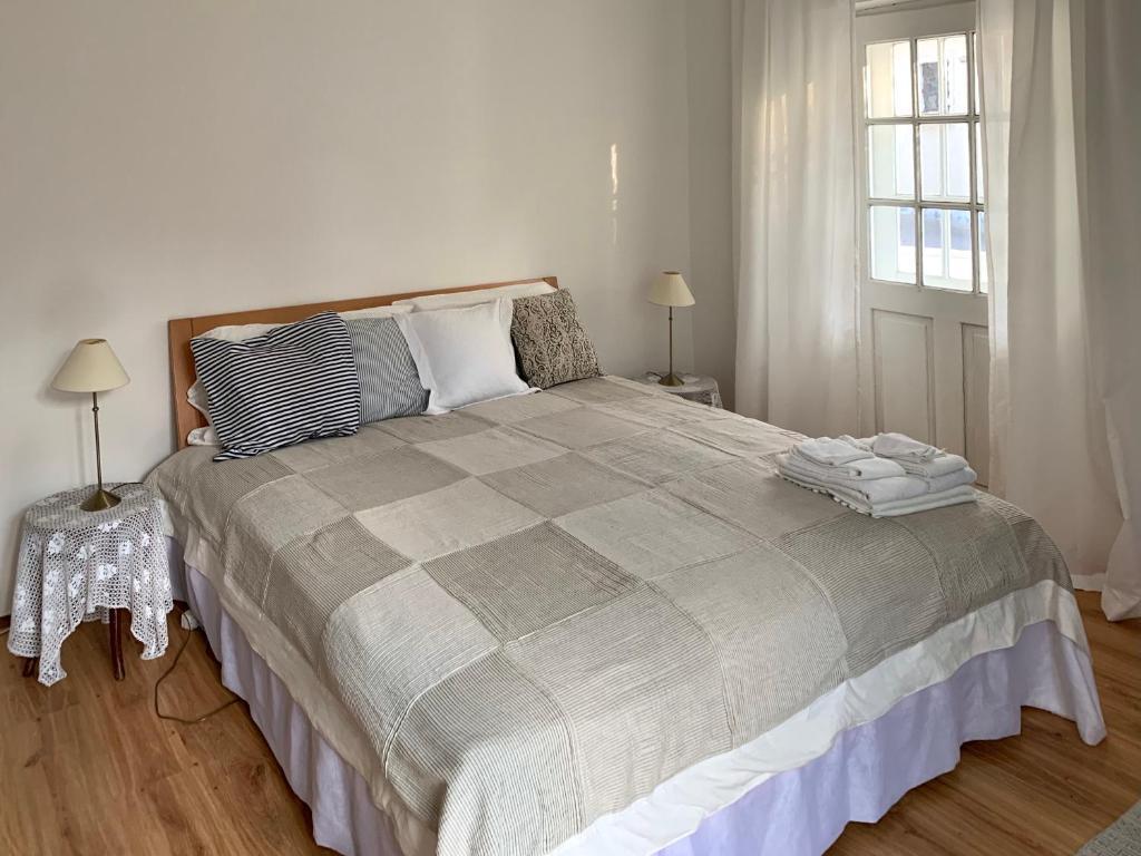 Ein Bett oder Betten in einem Zimmer der Unterkunft Radler-Rast