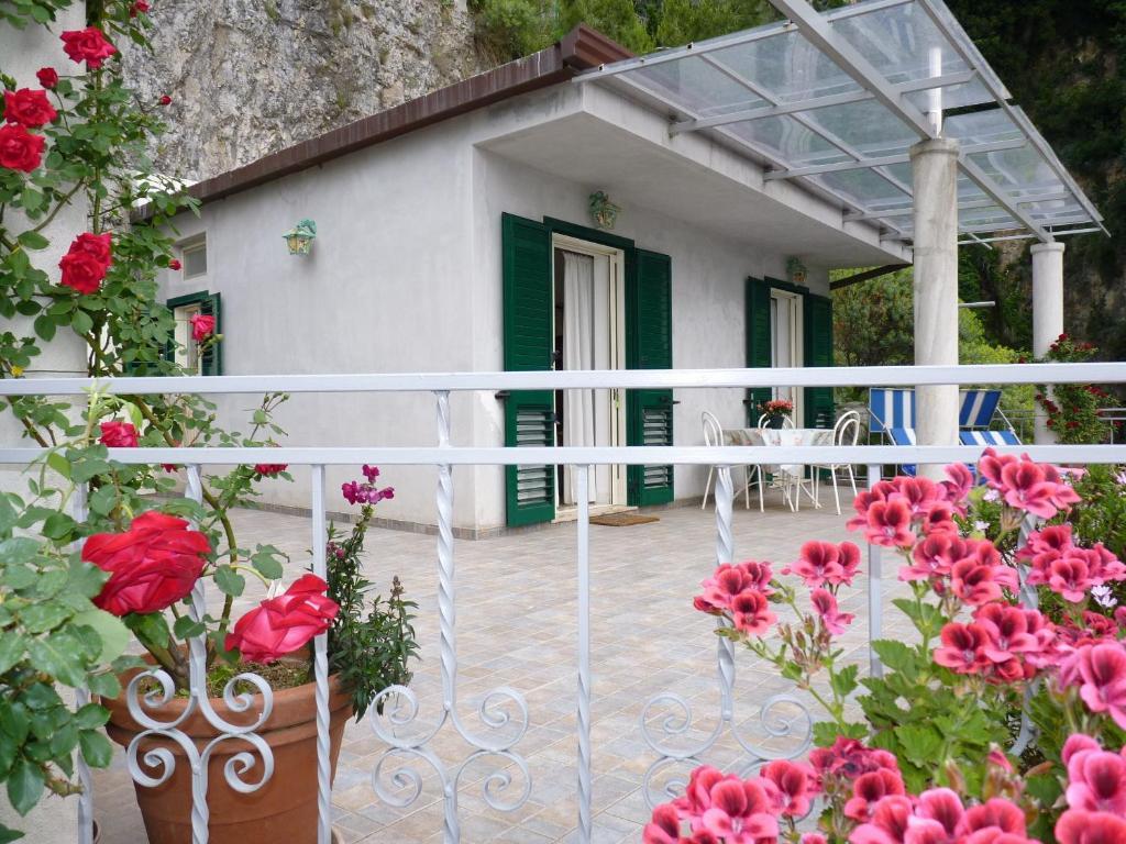 Balcone o terrazza di Casa Fortunata