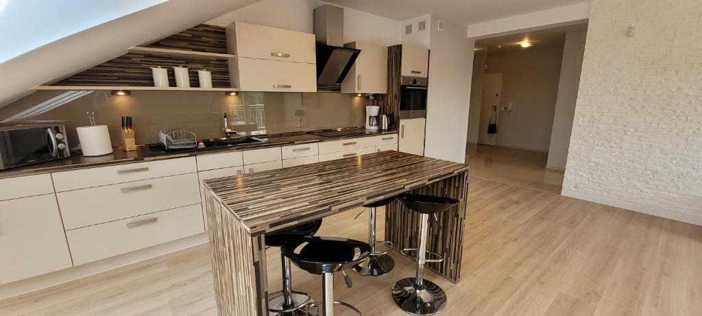 Kuchnia lub aneks kuchenny w obiekcie Apartament 44