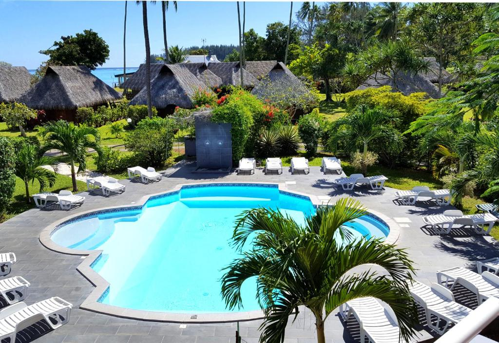 The swimming pool at or near Hotel Hibiscus