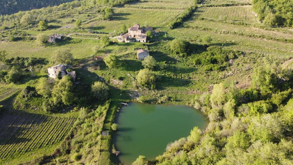 Vista aerea di Agriturismo Podere Tegline