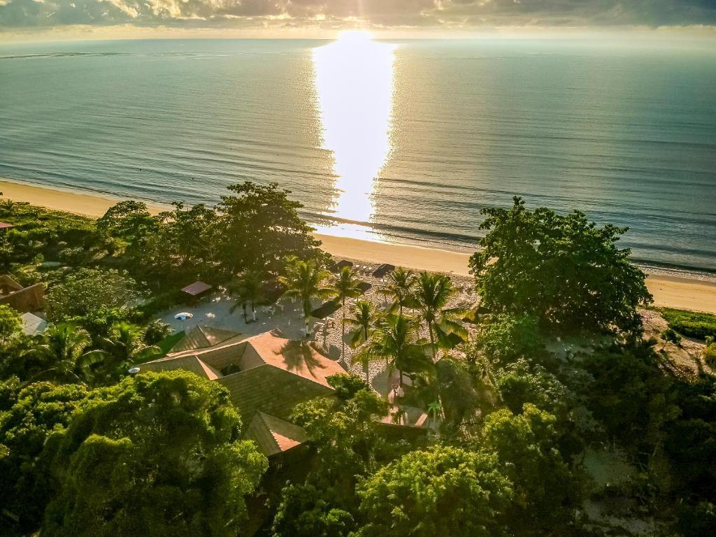 A bird's-eye view of Coroa Vermelha Beach - All Inclusive