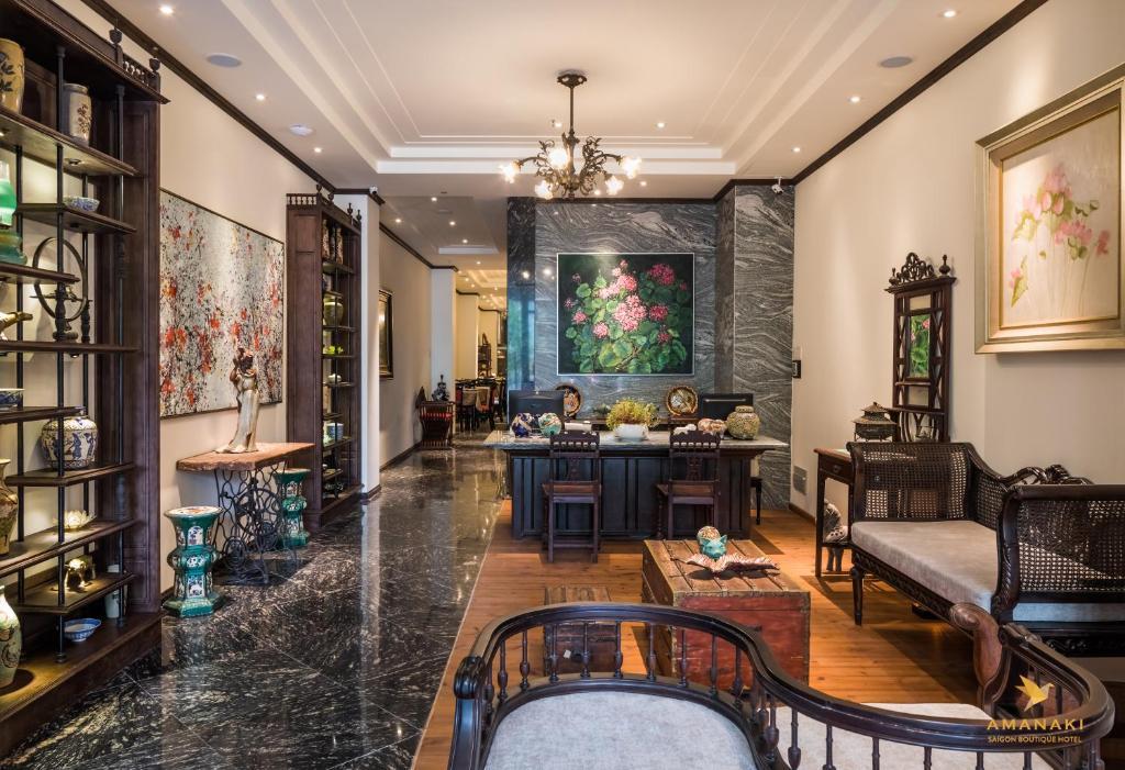 Nhà hàng/khu ăn uống khác tại Amanaki Saigon Boutique Hotel