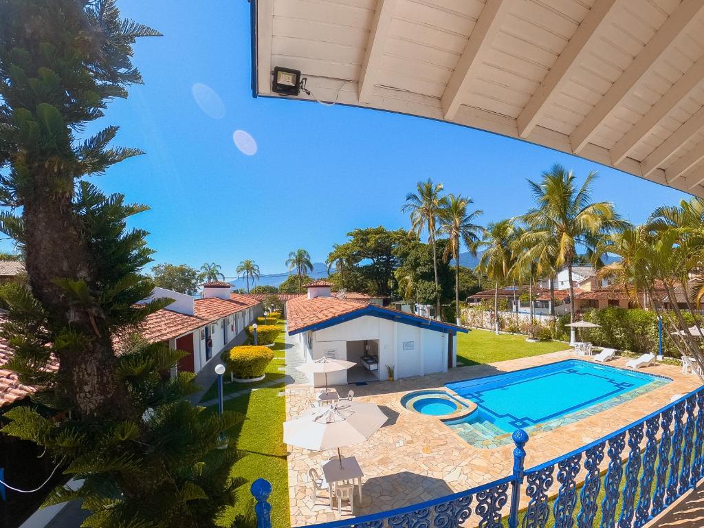 Вид на бассейн в Hotel Arrastão или окрестностях