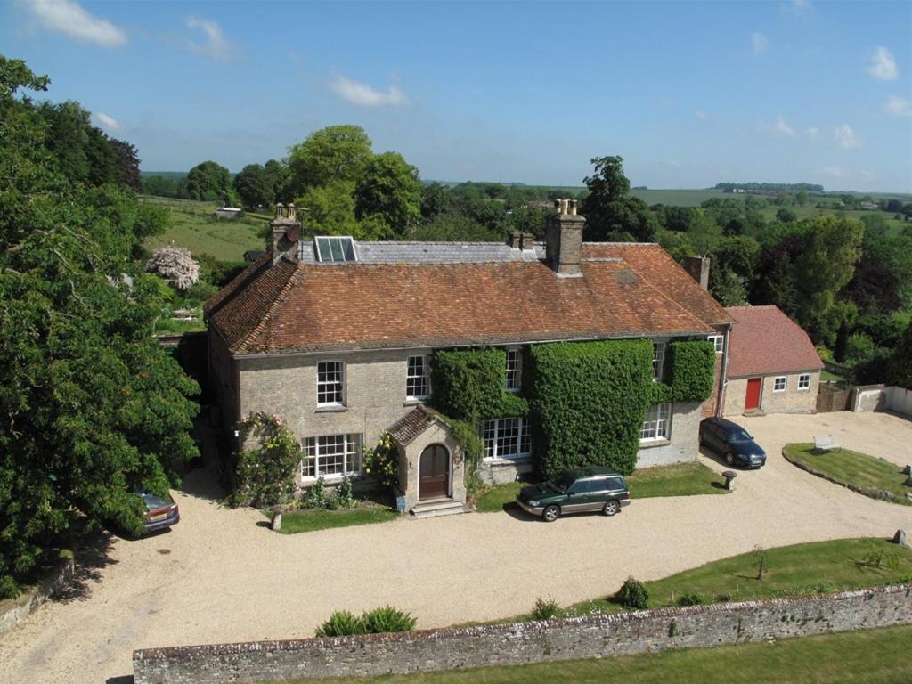 A bird's-eye view of Manor Farm B&B