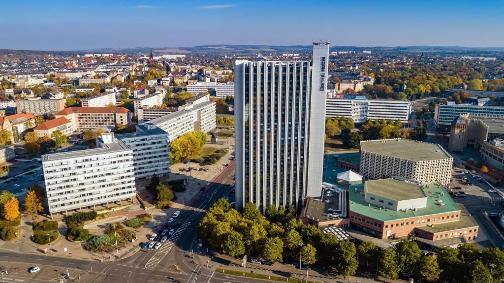 A bird's-eye view of Dorint Kongresshotel Chemnitz